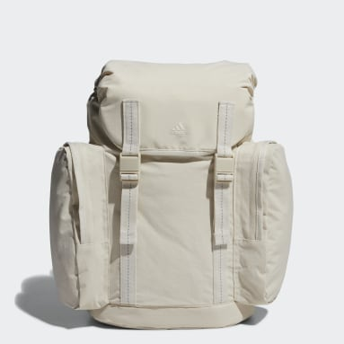 Women Tennis Beige Backpack