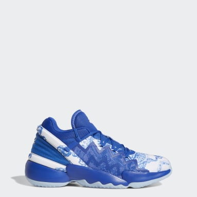 Basketball Blue Donovan Mitchell D.O.N. Issue #2 Shoes GIFT TO THE WORLD