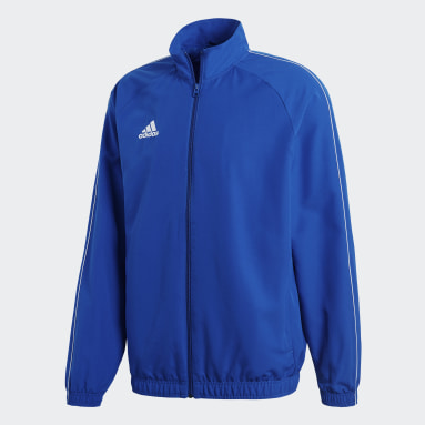 Men Gym & Training Blue Core 18 Presentation Jacket