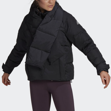 Women City Outdoor Black Glam On Puffer Down Jacket