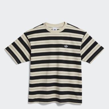 Yarn-Dyed t-skjorte Svart