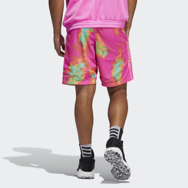 Mænd Basketball Pink Donovan Mitchell shorts