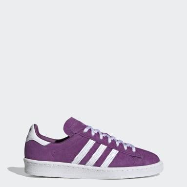 Women Originals Purple Campus 80s Shoes