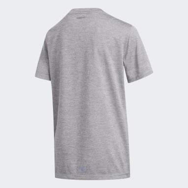 Youth Training Grey Badge of Sport Tee