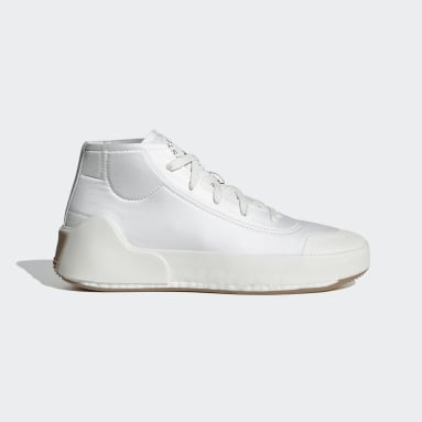Dames adidas by Stella McCartney Wit adidas by Stella McCartney Treino Mid-Cut Schoenen