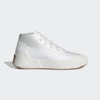 Chaussure adidas by Stella McCartney Treino Mid-Cut Blanc Femmes adidas by Stella McCartney