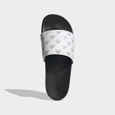 Claquette Adilette Comfort Blanc Sportswear