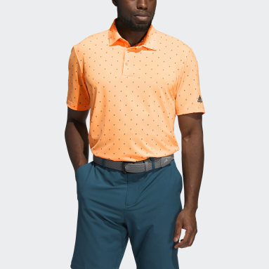 Polo Ultimate365 Printed Orange Hommes Golf