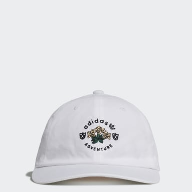 Originals White adidas Adventure Vintage Baseball Cap