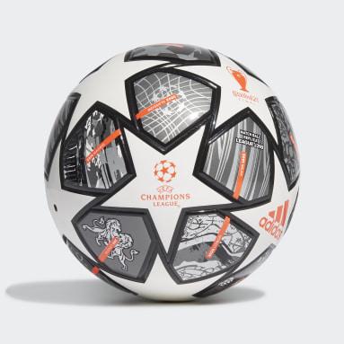 Børn Fodbold Hvid Finale 21 20th Anniversary UCL Junior 290 League bold