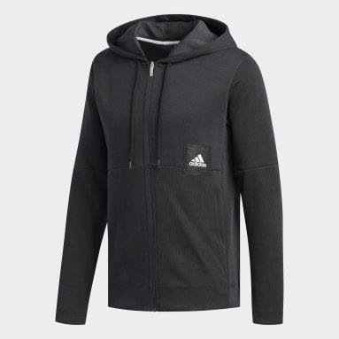 Men's Basketball Black Cross-Up 365 Sweatshirt