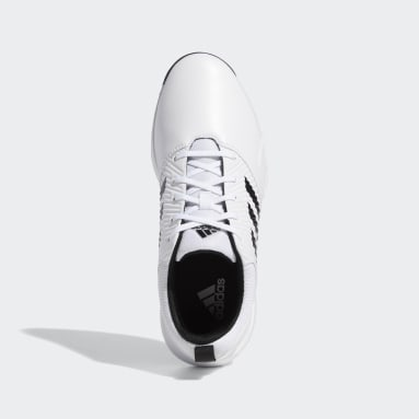 Men Golf White CP Traxion Spikeless Shoes