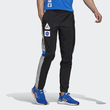 Pants Own The Run Space Race Negro Hombre Running
