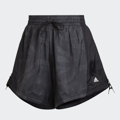 Frauen Sportswear adidas Sportswear Woven Lightweight Shorts Schwarz