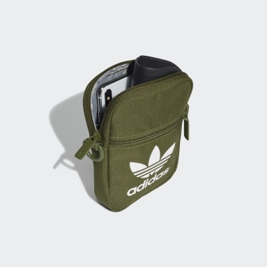 Originals Green Trefoil Festival Bag