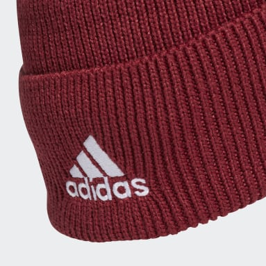 Football Burgundy Arsenal Beanie