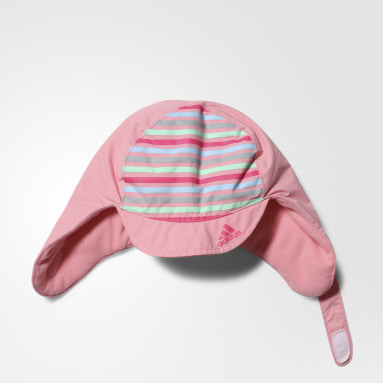 розовый Шапка USHANKA