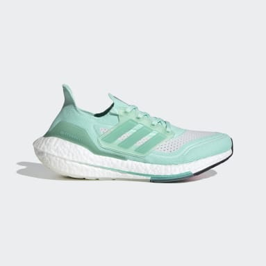 Chaussure Ultraboost 21 Turquoise Femmes Running