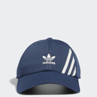 Men's Originals Blue Relaxed SST Strap-Back Hat