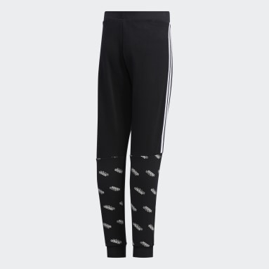 Pantalón Core Favorites Negro Niño Diseño Deportivo