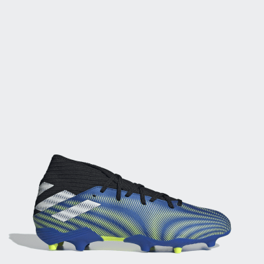 Scarpe da calcio Nemeziz.3 Firm Ground Blu Calcio