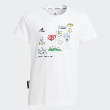 Girls Lifestyle White Aaron Kai x adidas Graphic Tee