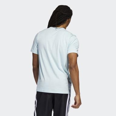 Men Basketball Green Born Different Graphic T-Shirt