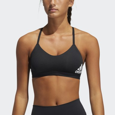 Dames Fitness En Training Zwart All Me Light Support Sportbeha