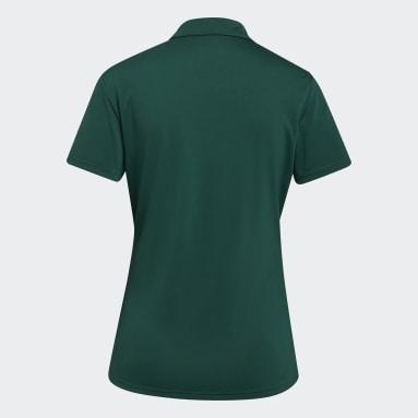 Dam Golf Grön Performance Polo Shirt