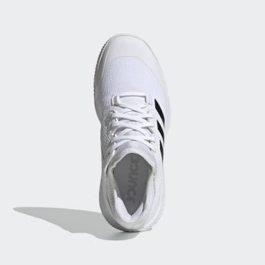 Sapatos Court Team Bounce – Pavilhão Branco Mulher Ginásio E Treino