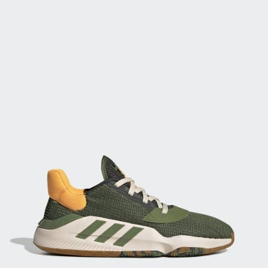 Men Basketball Green Pro Bounce 2019 Low Shoes