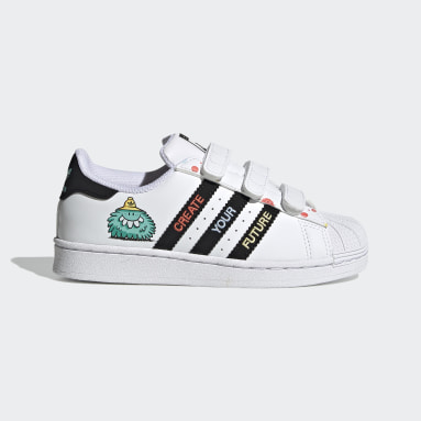 Kids Originals White adidas x Kevin Lyons Superstar Shoes