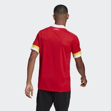 Men Football Red 1. FC Union Berlin 20/21 Home Jersey