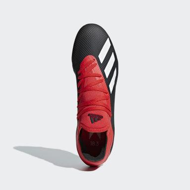 calzado de fútbol X 18.3 Terreno Firme Negro Hombre Fútbol