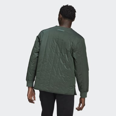 Men Originals Green R.Y.V. Light Padded Jacket