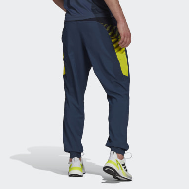 Pants Designed 2 Move Activated Tech AEROREADY Azul Hombre Training