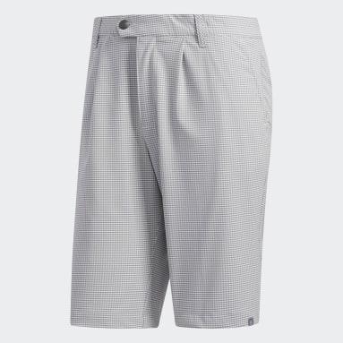 Men's Golf Grey Ultimate365 Gingham Plaid Short