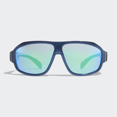 Running Blue Sport Sunglasses SP0025