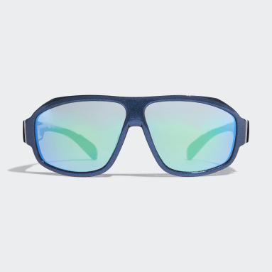 Running Blue Sport Sunglasses SP0025