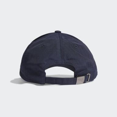 Y-3 Ripstop Caps Blå