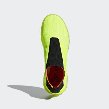 Calzado Predator Tango 18+ Amarillo Hombre Fútbol