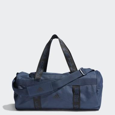 Cricket Blue 4ATHLTS Duffel Bag Small