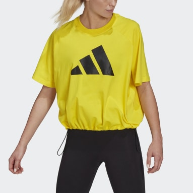 Dam Sportswear Gul adidas Sportswear Adjustable Badge of Sport Tee
