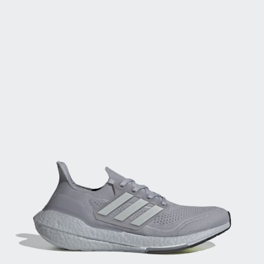 Chaussure Ultraboost 21 gris Hommes Course