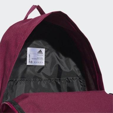 Training Burgundy Classic Big Logo Backpack