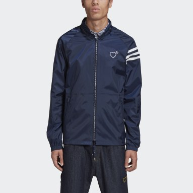 Herr Originals Blå Human Made Windbreaker