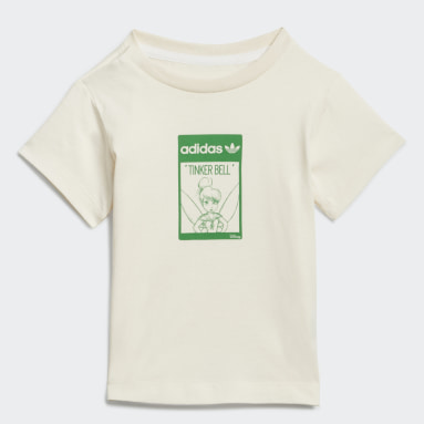 Kids Originals White Disney Tinkerbell Organic Cotton T-Shirt