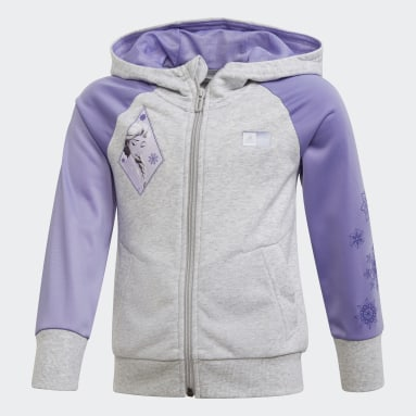 Girls Training Grey Frozen 2 Cover-Up
