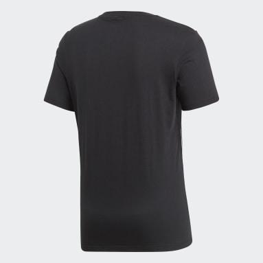 Camiseta Core 18 Negro Hombre Gimnasio Y Entrenamiento