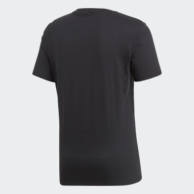 T-shirt Core 18 Nero Uomo Fitness & Training